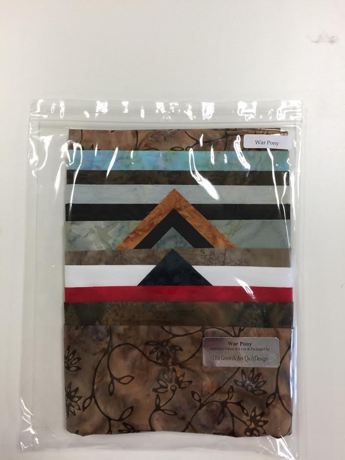 War Pony Fabric Packet by Victoria Schultz