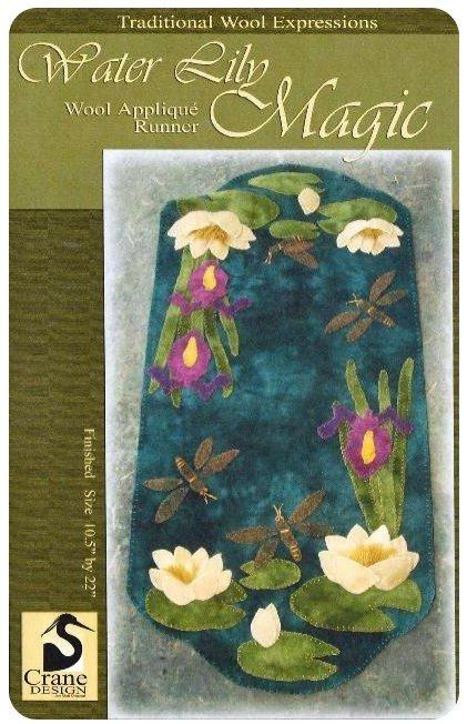 Water Lily Wool Pattern