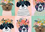 Floral Pets Puppy Multi
