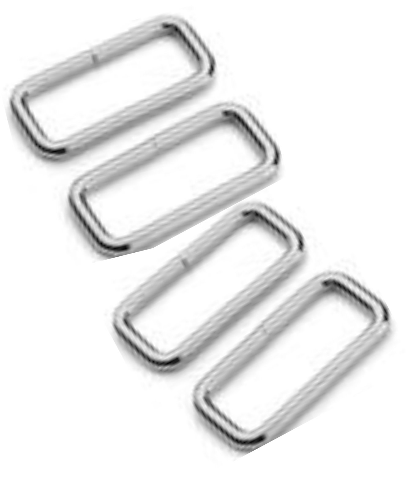 1-1/2 rectangle nickel 4pc