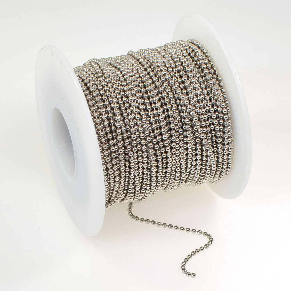 Ball Chain w/ connector Ant siler 36in.