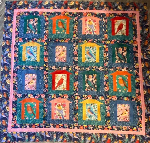 Bird Quilt Kit