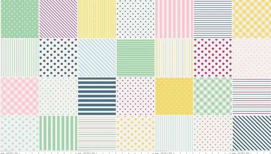 C6361-Quilt Block Yellow