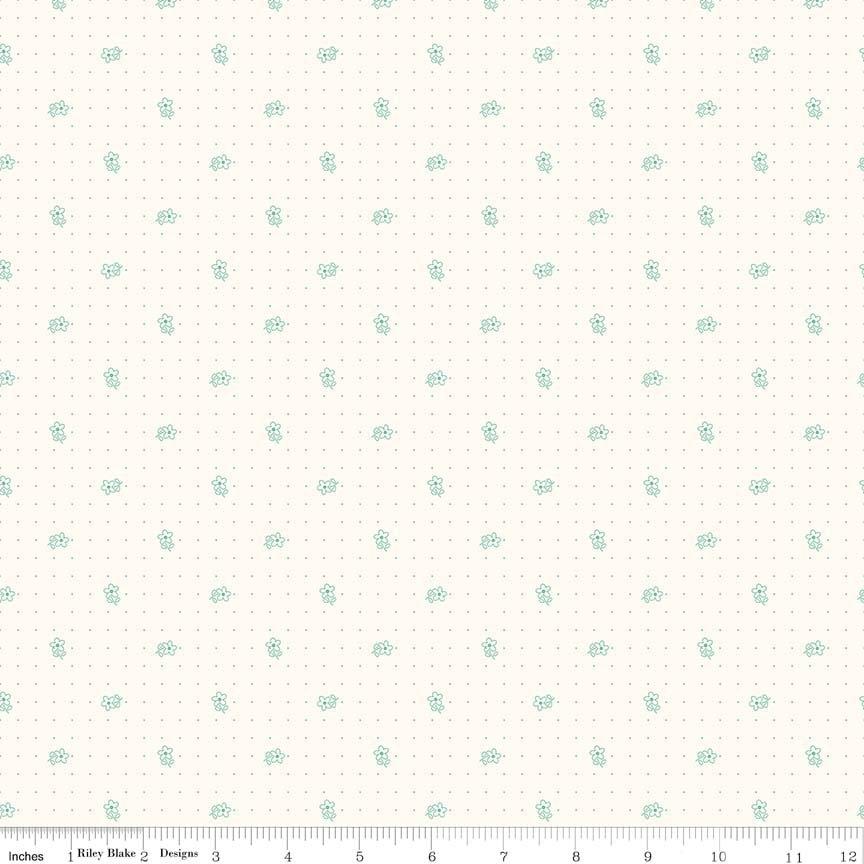 C6380 Daisy Teal