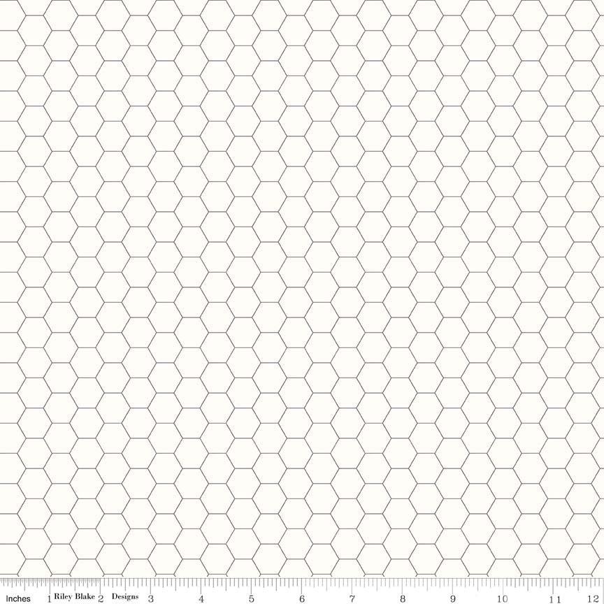 C6387 Honey Comb Grey