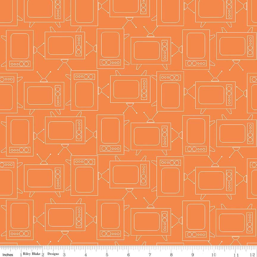 C6411 TVs Orange