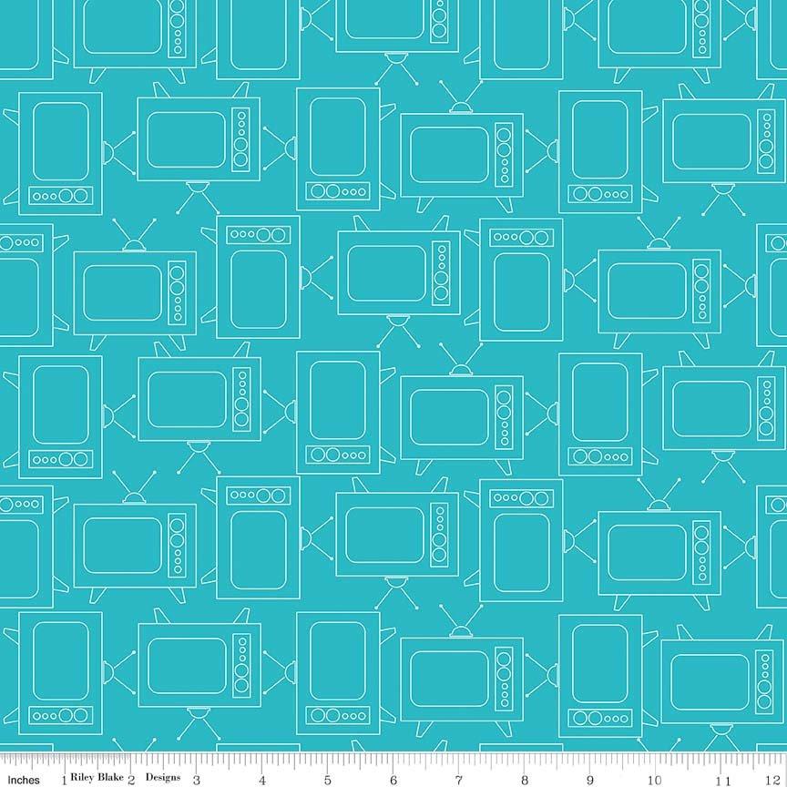 C6411 TVs torquoise