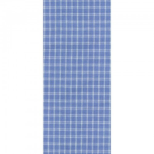 Tea Towel Window Pane Prov Blue & Cream
