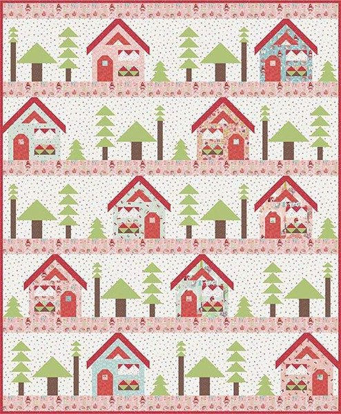 To Grandma's House Quilt Kit
