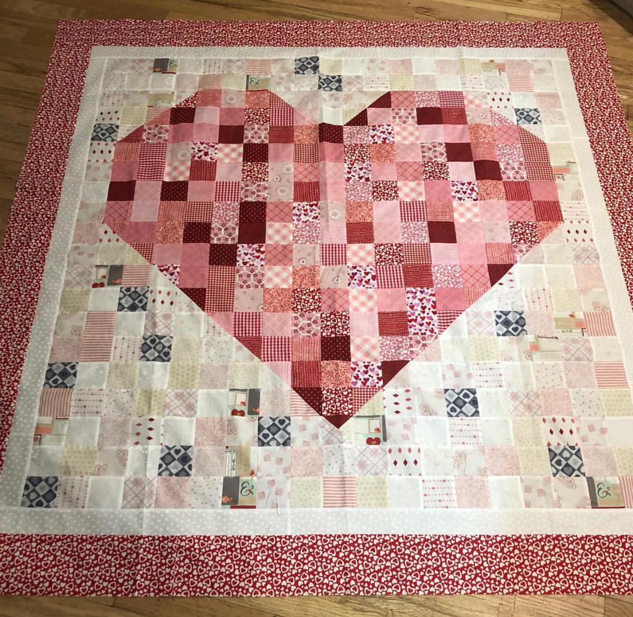 Heart Quilt Kit