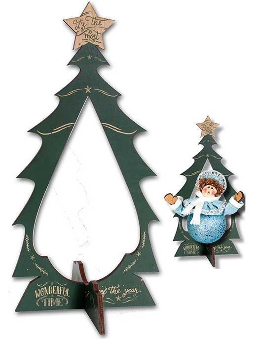 Engraved Ornament Display Tree