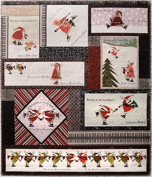Merry Merry Merry Pattern and embellishment Kit