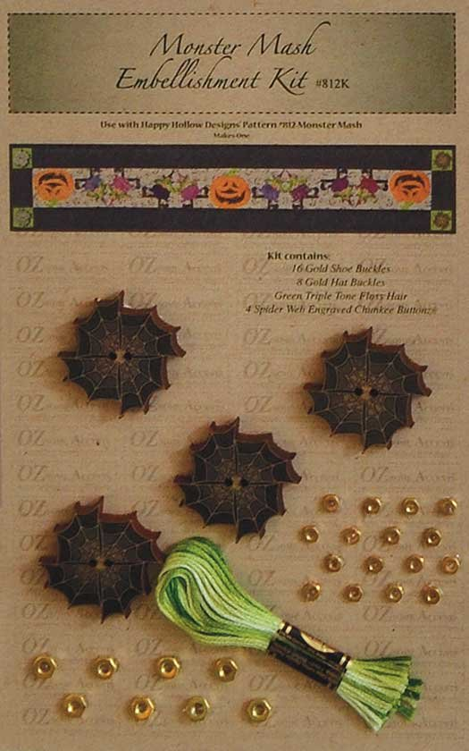 Monster Mash Embellishment kit