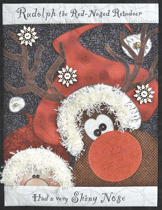 Rudolph Pattern and Embellishment kit