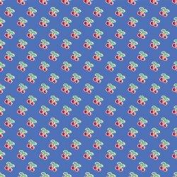 Cherry Lemonade Rows of Cherries Blue