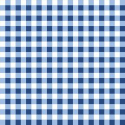 Cherry Lemonade Plaid Blue