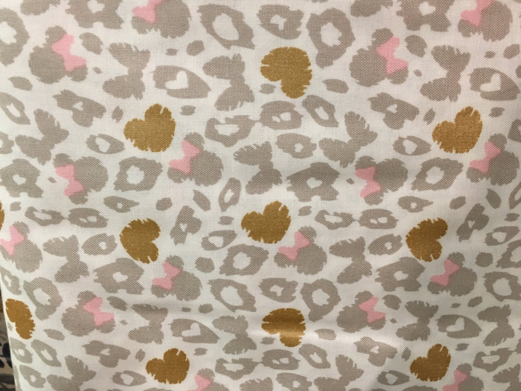 Minnie Mouse Leopard pink/grey