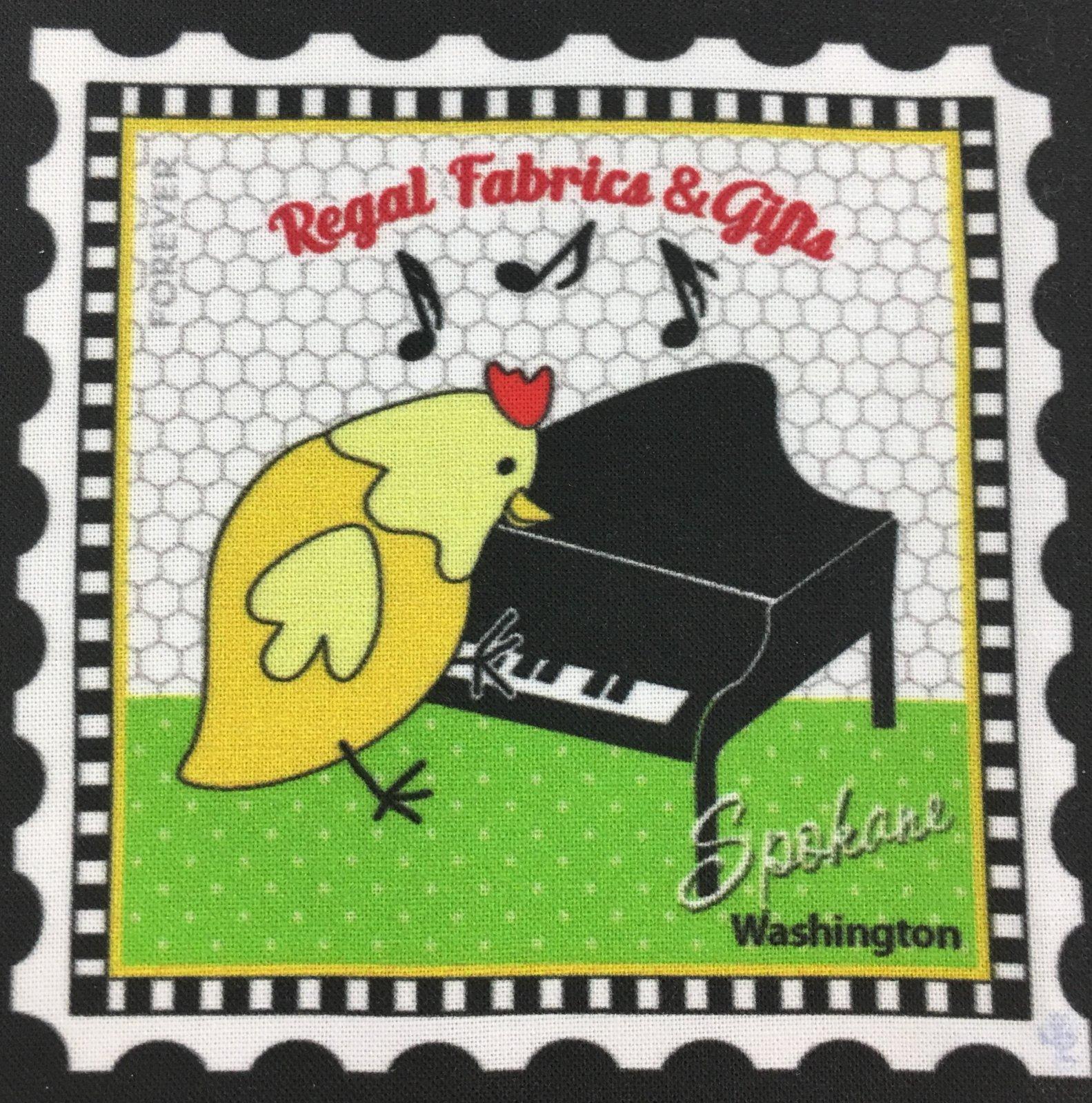 Keyboard Chick Charm