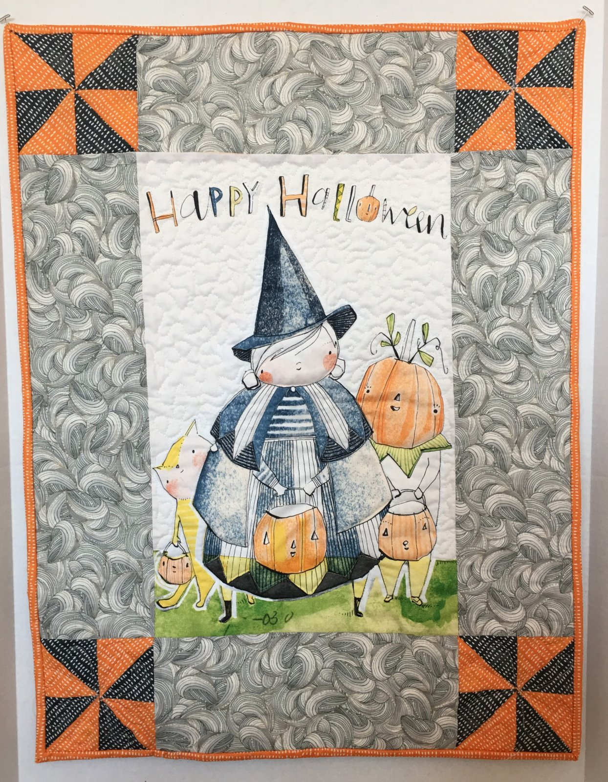 Halloween Wall Hanging CD