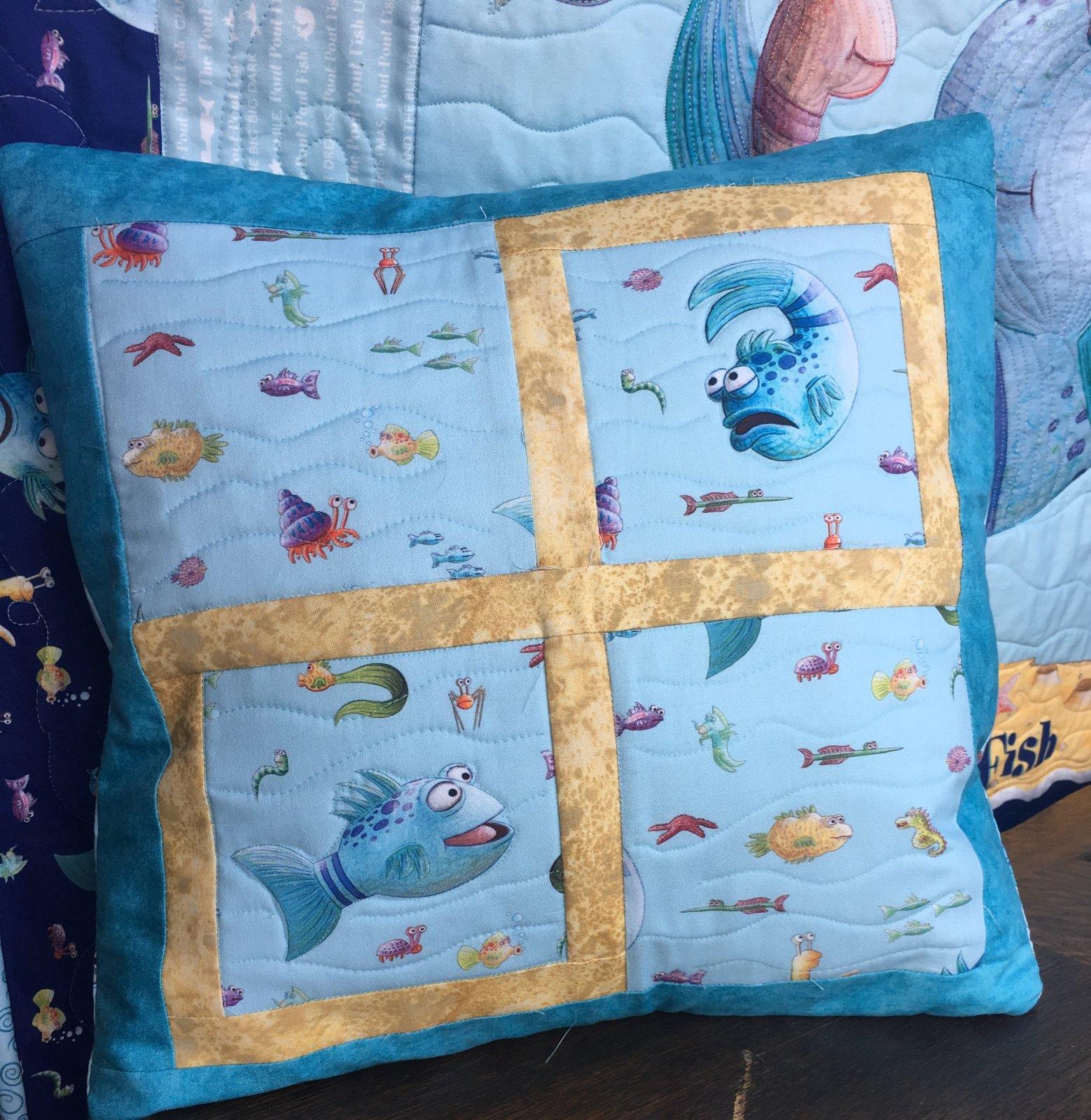 Pout Pout Fish Pillow Kit
