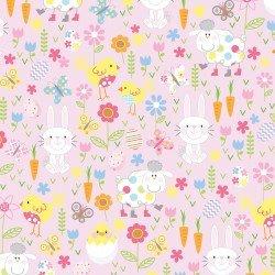 Hippity Hoppity Friends Pink 09758-01