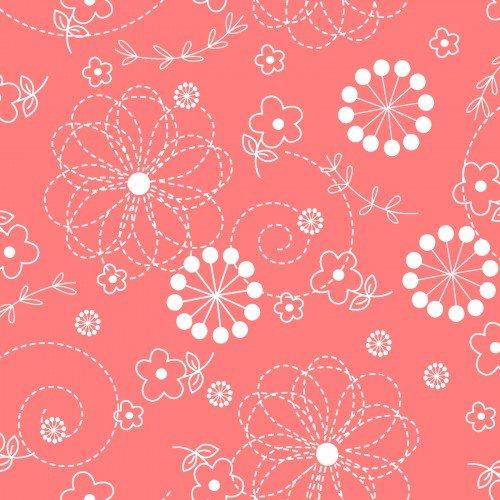 MAS8246-CP Doodles coral