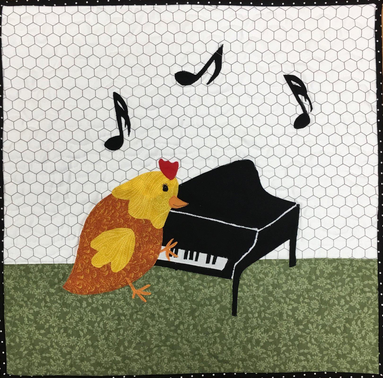 Keyboard Chick pattern