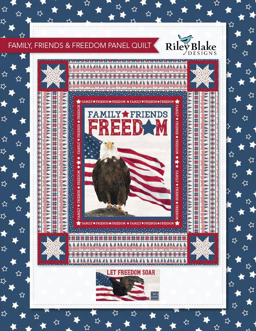 Family, Friends & Freedom Quilt Kit