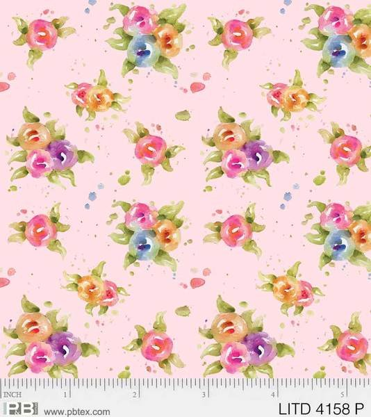Little Darlings Floral Pink