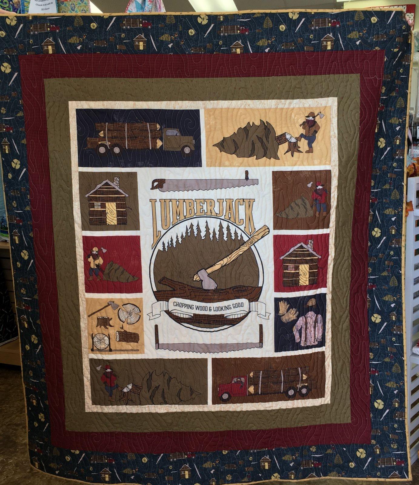 Lumberjack Quilt Kit
