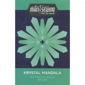 Krystal Mandala by Man Sewing