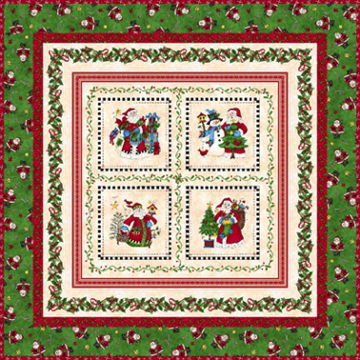 Just Be Claus quilt kit