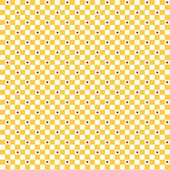 Mary's Fairies 25894-S Yellow check