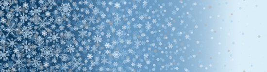 First Snowfall Blue/Silver S7717-7S