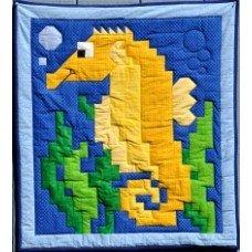 Sea Horse Quilt Pattern