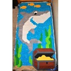 Shark Quilt Pattern Twin