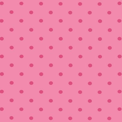 Jersey Knit Dots Rose/Pink