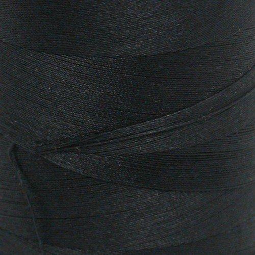 V37-002 Star Cotton Thread Black