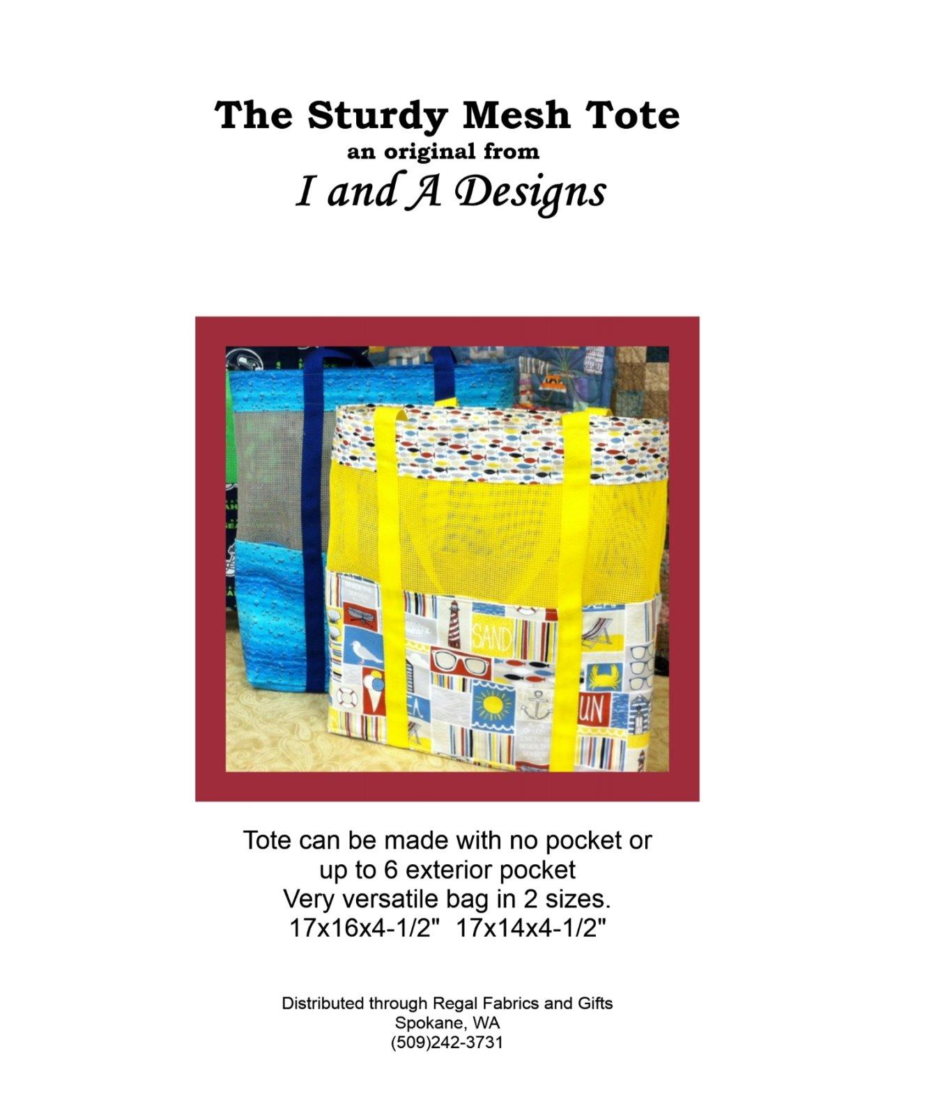 Sturdy Mesh Tote Bag Pattern