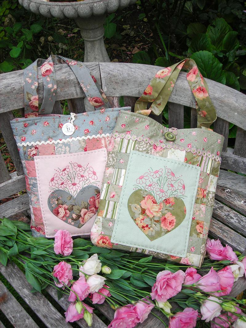 Sweetheart Bag pattern