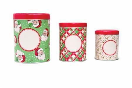 Swell Christmas Tins Set
