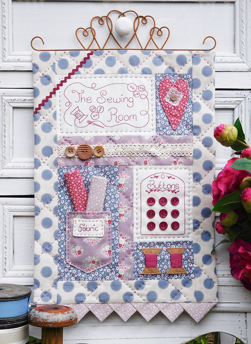 The Sewing Room Wall Hanging Pattern