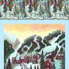 Ski Town Digital Panel Y2994-54