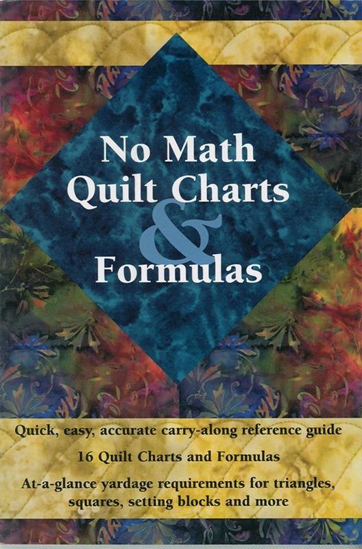 No Math Quilt Charts & Formula