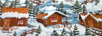 Twin Peaks Wintery Scene