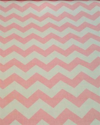 Pink Chevron60 Inch Wide
