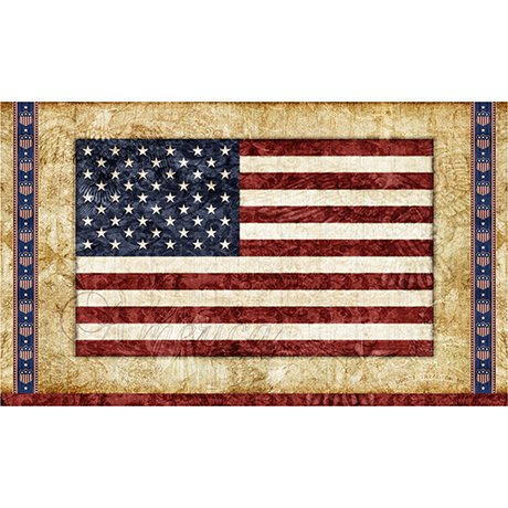 Home Of The Brave Flag Panel