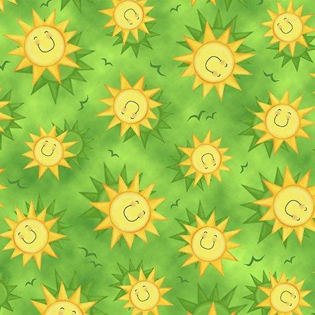 Animal Farm Smiley Sun Green
