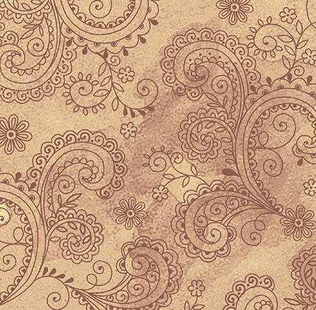 Avalon Decorative Filigree Tan 108 Wide