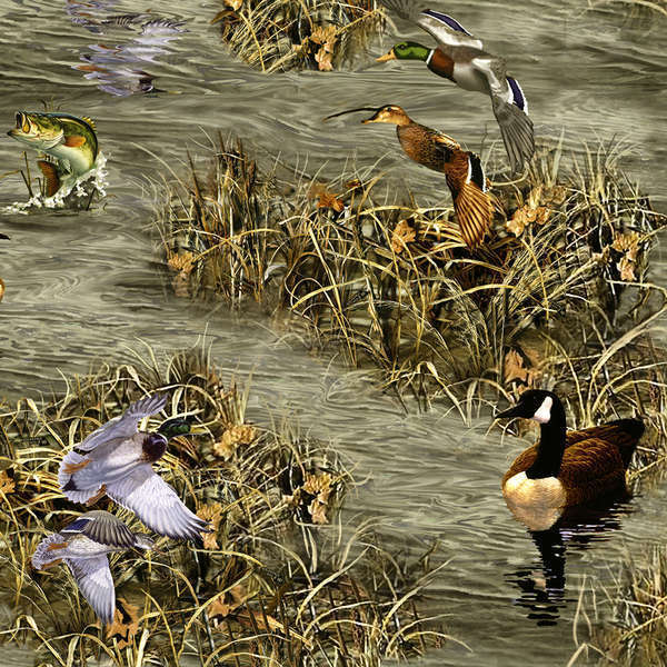 Realtree Ducks Geese Fish